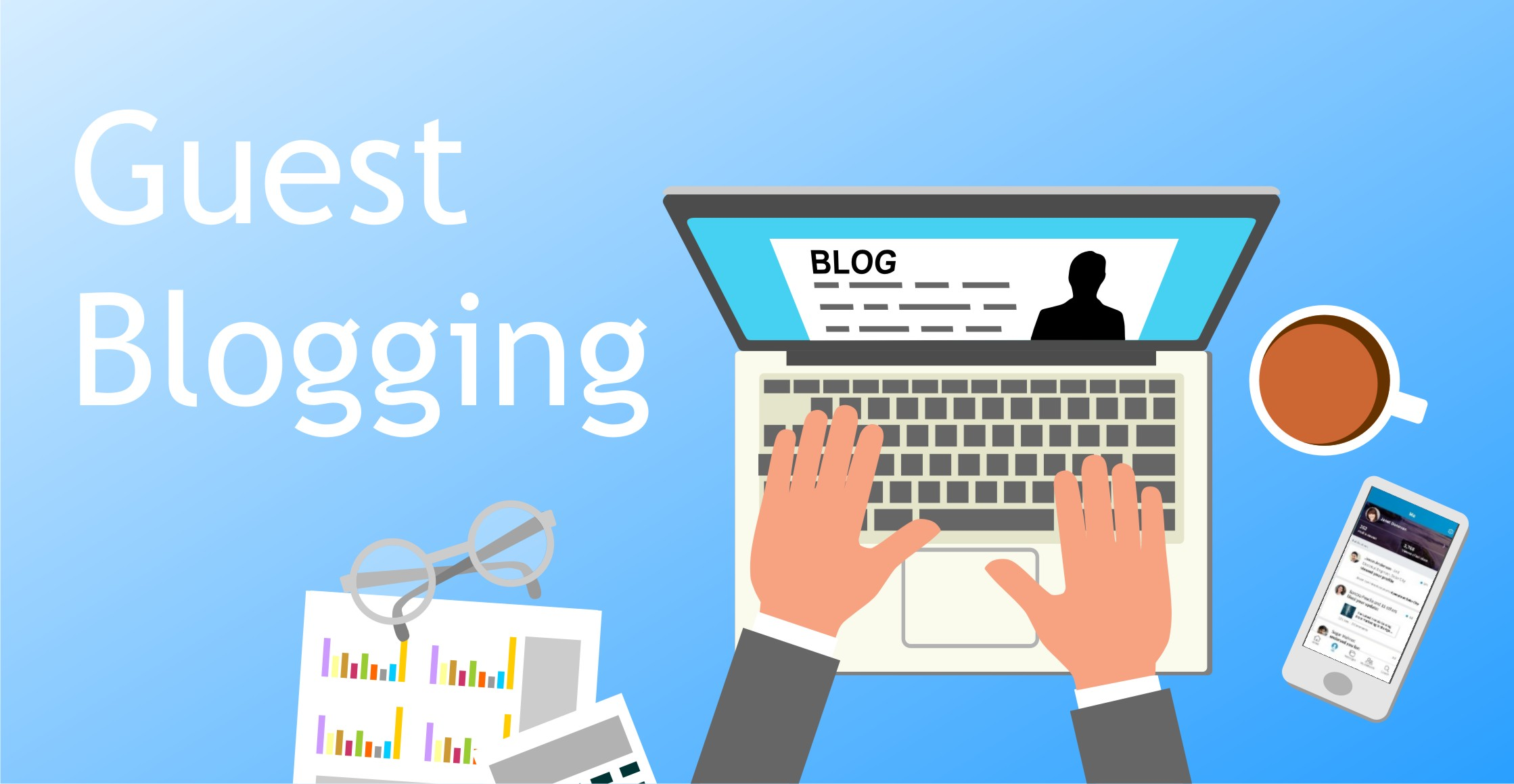 How Guest Blogging Services Help You Get More Organic Traffic to Your Websites