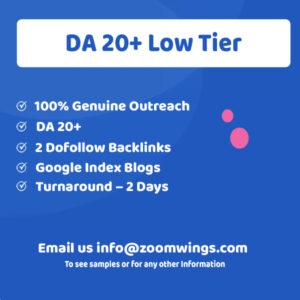 DA 20+ Low Tier
