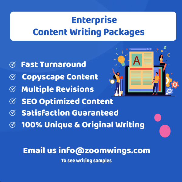 Enterprise – Content Writing Packages