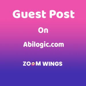 Guest Post on Abilogic.com