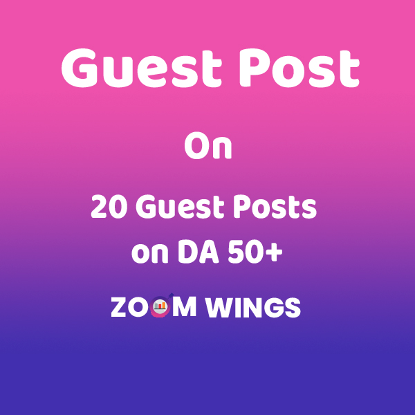 20 Guest Posts on DA 50+