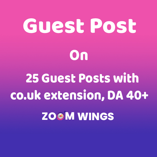 25 Guest Posts with co.uk extension