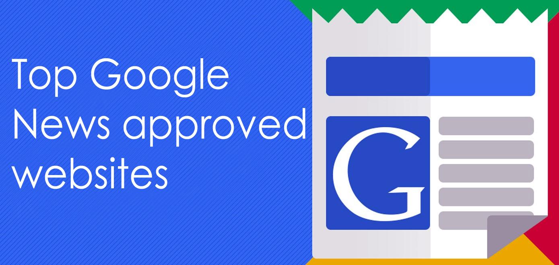 Top Google news approved websites