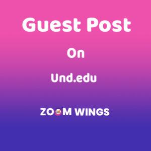 Guest Post on Und.edu