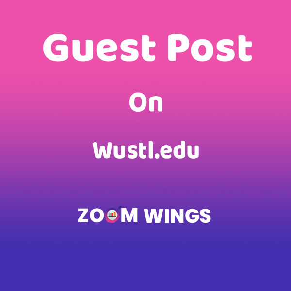 Guest Post on Wustl.edu